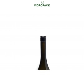 Vinolok glas Grifkorken schwarz Low Top 18.5 mm