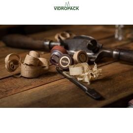 Vinolok glas stoppers woody High Top 23.0 mm