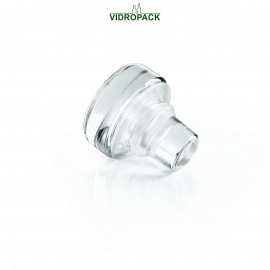 Vinolok glas Grifkorken klar High Top 20.0 mm