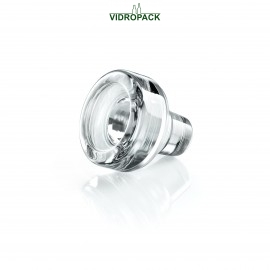 Vinolok glas stoppers clear High Top 23.0 mm