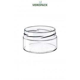 Glazen pot 228 ml Conserven met twist Off 82 Deep monding