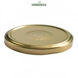 Twist Off låg / skruelåg 82 mm (TO82) guld