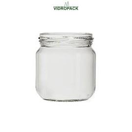 212 ml Jar flint 66 mm twist off lid finish (TO66)