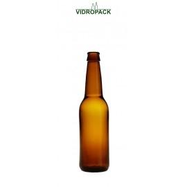 330 ml Longneck braune Flasche mit kronenkork (26mm) Mündung