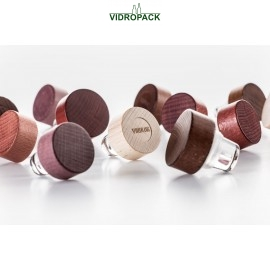 Vinolok glas stoppers 18.2 mm woody High Top