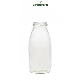 250 ml Weithalsflasche Twist Off 43 Verschluss Mündung