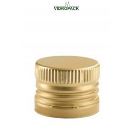 Drehverschlüsse PP28 mit Gewinde und Sicherungsring (28x18mm) gold