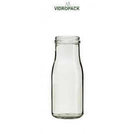 150 ml saftflaske klar til twist off 43 skruelåg