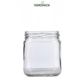400 ml sylteglas / konservesglas til twist off 82 skruelåg