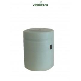 krympehætte 33 x 40mm (lyseblå) - med  tear off / åbningsstrimmel