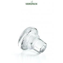 Vinolok glasprop 17.5 mm klar Low Top