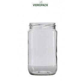 720 ml sylteglas / konservesglas til twist off 82 skruelåg