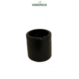 Schrumpfkapsel  41 x 30 mm schwarz  ohne Deckel vertikale Perforation