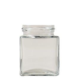 212 ml Quadratglas Flint TO58
