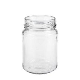 196 ml jar flint twist off 58 deep finish