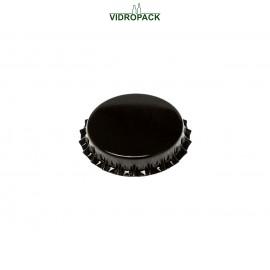 Kroonkurk 29 mm zwart